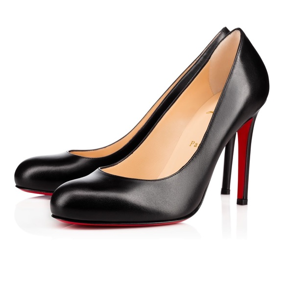Christian Louboutin Shoes - Christian Louboutin black Pumps stiletto Size 35.5